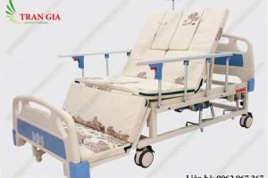cho thuê giường bệnh nhân, giường y tế đa năng 4 tay quay giá rẻ