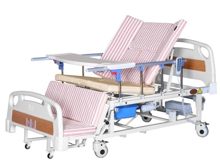 7编号BD01手电一体多功能放下话防侧滑护理床
